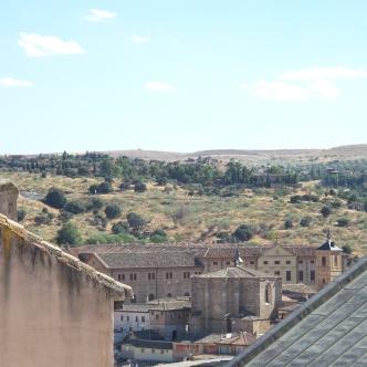 Utsikt fra vinduet vårt