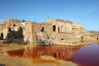 Ruiner fra gruveområdene ved Mazarron
