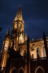 Katedralen i byen - natterstid