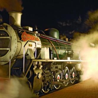 Imponerende flotte tog!