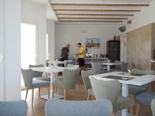 Frokostrommet - som også fungerer som restaurant for *ikke-boende*gjester