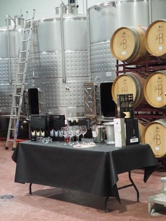 Vinsmaking inne i bodeagen