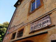 Klosteret driver kafe/resturantdrift - veldig god mat, må sies!
