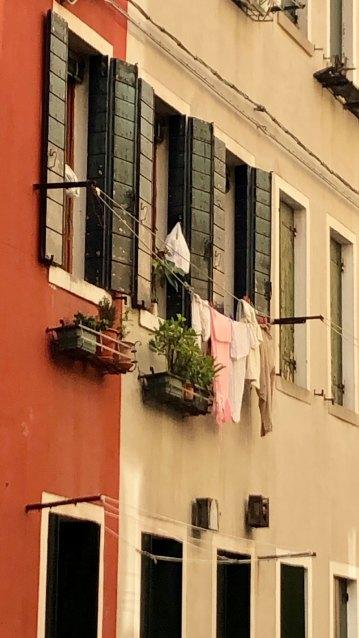 Klestørk i Venezianske gater