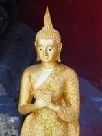 En vakker Buddha ved Wat Benjamaborpit